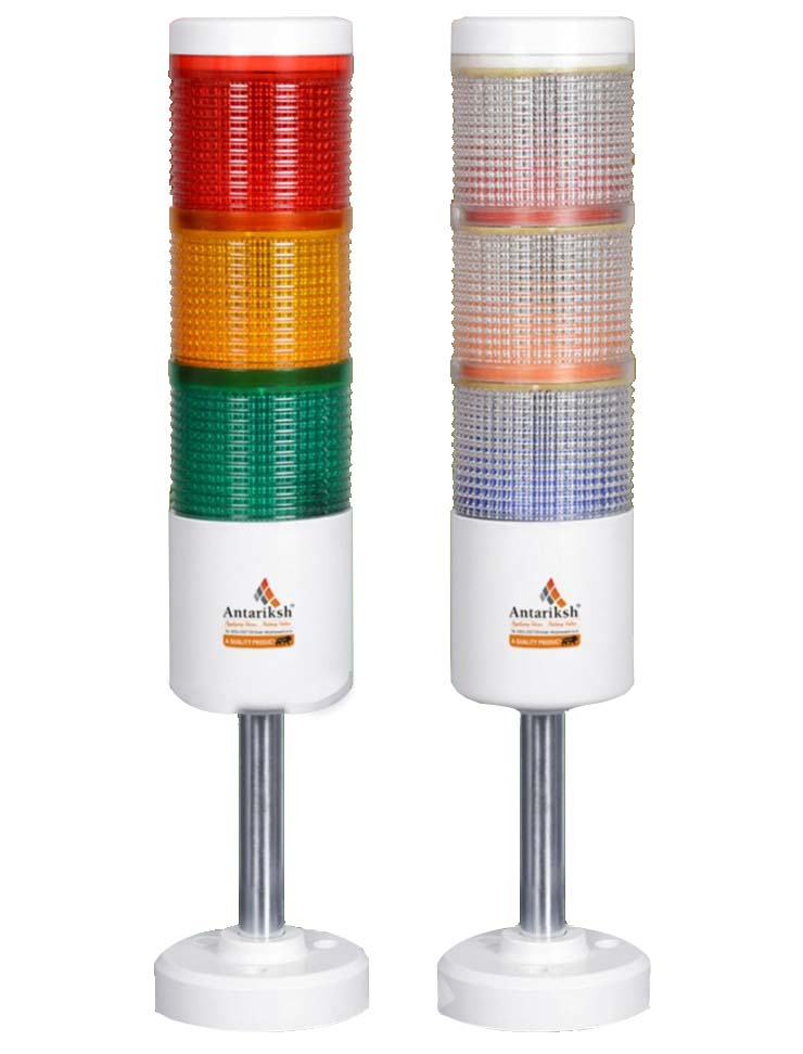 Tower Lamp, LED Tower Lamp Manufacturers Suppliers in Nashik, Pune, Mumbai, Maharashtra, India, Industrial Tower Led Signal Track Alarm Lamp, Red Green Yellow Lights, Tower Lamp, Tower Lights, 24 V AC/DC, 110 V AC, 230 V AC